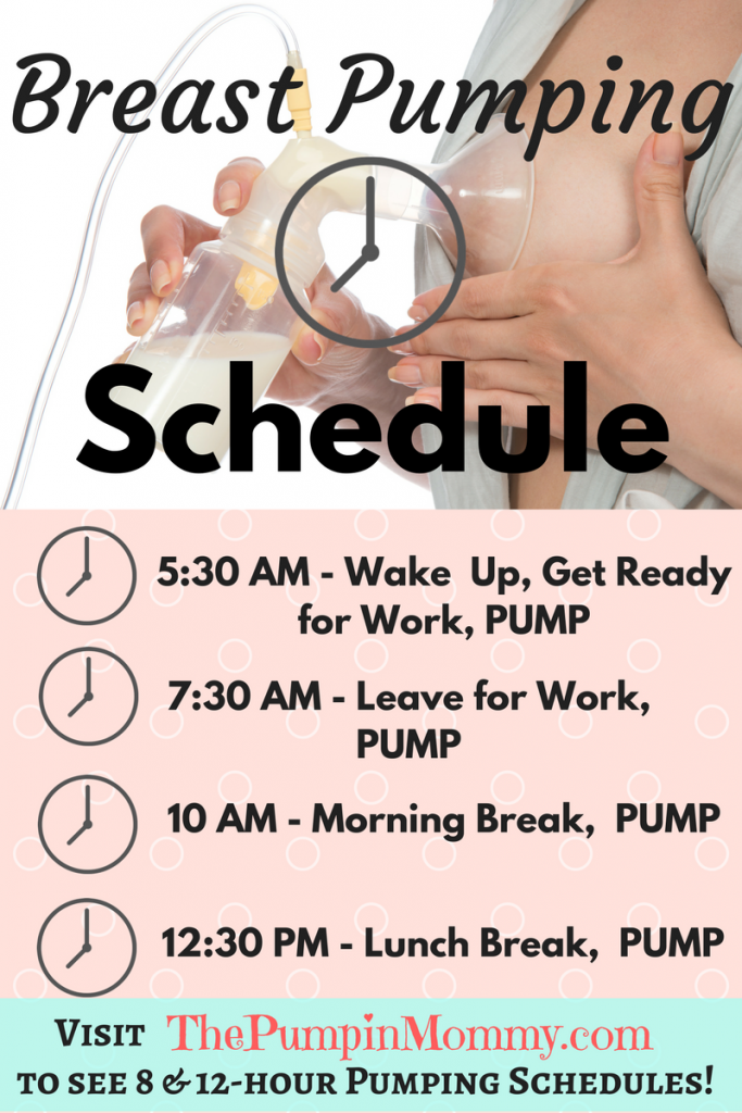 Breast-pumping-schedule