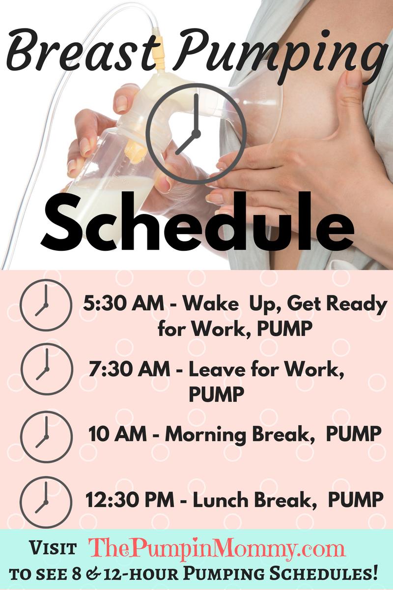 Breast-pumping-schedule