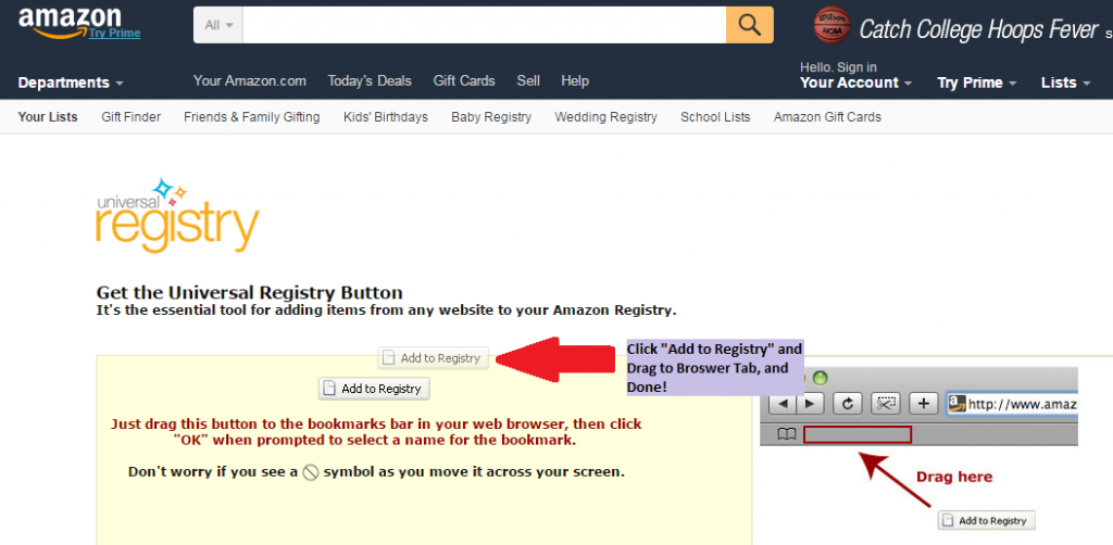 ... How Does Amazon Baby Registry Work