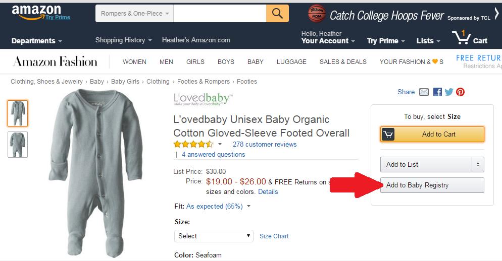Amazon.com Baby Shower Registry – How Does Amazon Baby Registry Work
