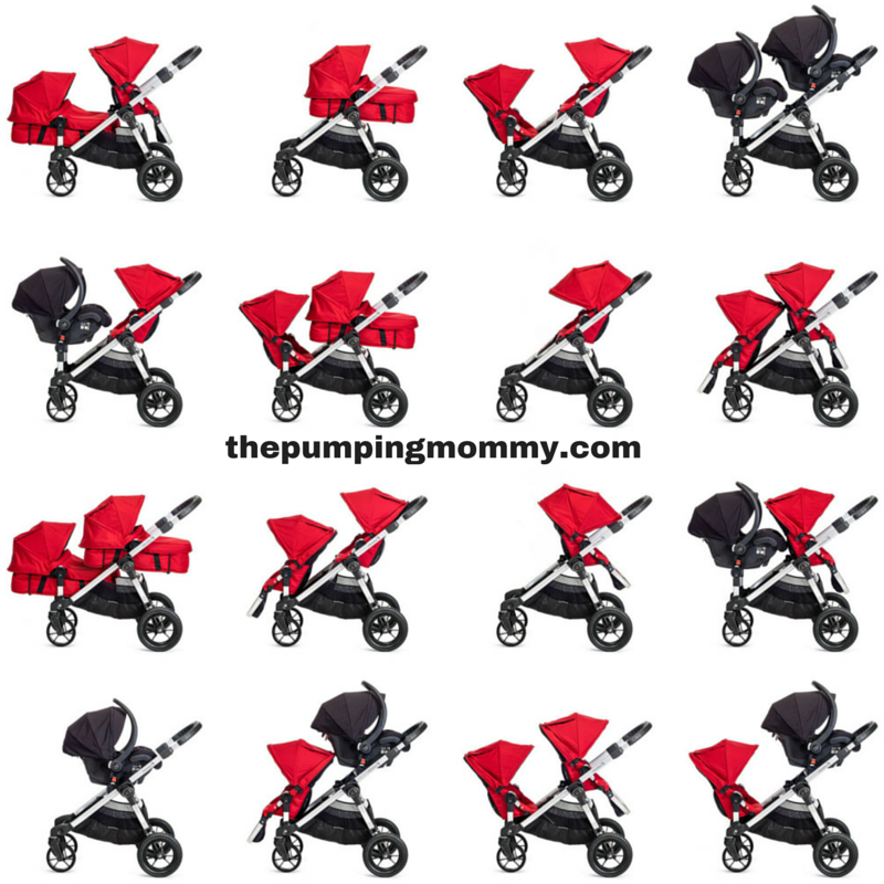 Baby Jogger City Select Stroller Seat Ruby