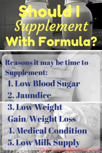 should-i-supplement-with-formula