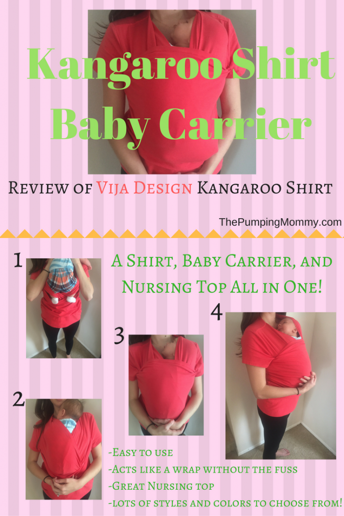 Kangaroo-Shirt-Baby-Carrier