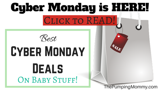 Best Cyber Monday Deals on Baby Stuff!