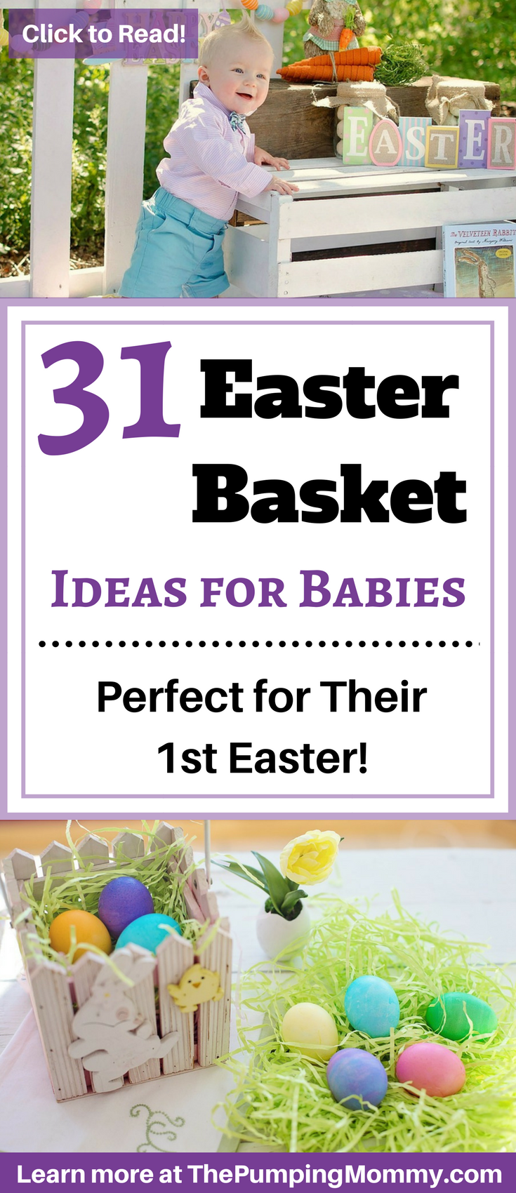 31 easter basket ideas for babies the pumping mommy 31 easter basket ideas for babies negle