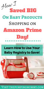 Best Amazon Prime Deals on Baby Products