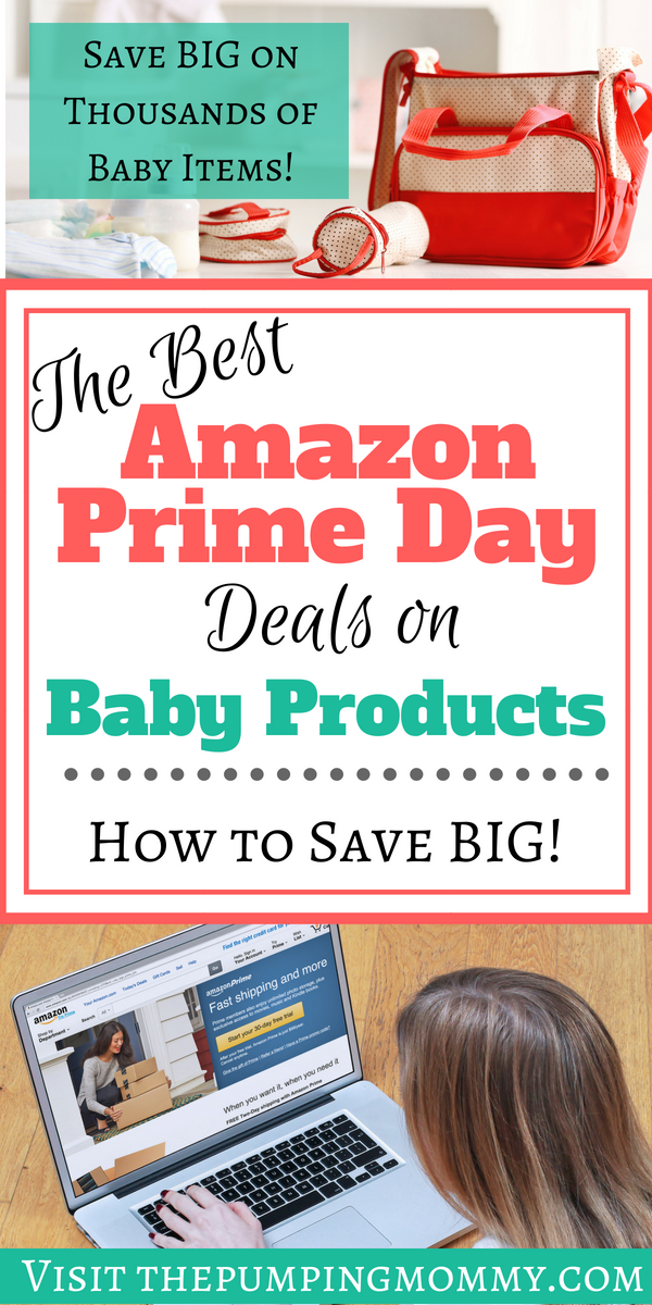 Best Amazon Prime Deals on Baby Products- Prime Day 2018 is almost here! And you know what that means - HUGE savings on everything including baby products! Find the best Amazon Prime deals on baby products here! Pro Tip: Learn how to save BIG with your Amazon Baby Registry on Prime Day! #AmazonPrimeDay #AmazonPrimeDealsonBaby #BestAmazonPrimeDeals #BabyProductDeals #HowtoSaveonBabyItems