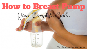 how to breast pump