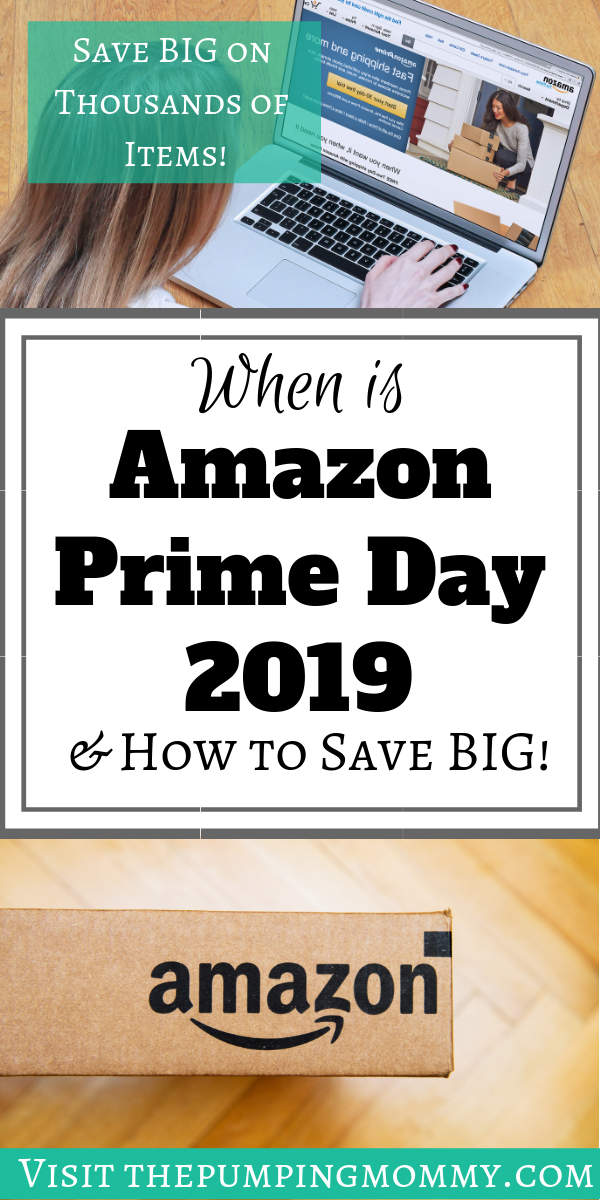amazon prime day date 2019 pin