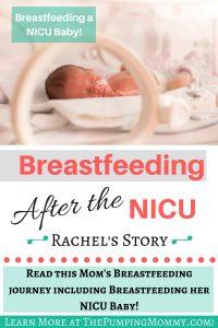 breastfeeding after nicu stay
