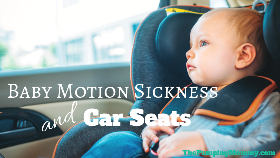 baby motion sickness and car seats